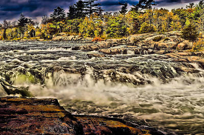 Photograph - Burleigh Falls  by Douglas Pike