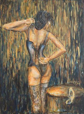 Burlesque II Original by Nik Helbig