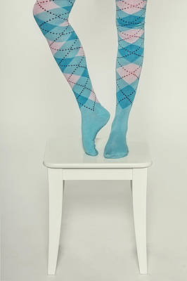 Balancing Photograph - Burlington Socks by Joana Kruse