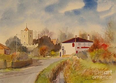 Painting - Burmarsh  Kent Uk by Beatrice Cloake