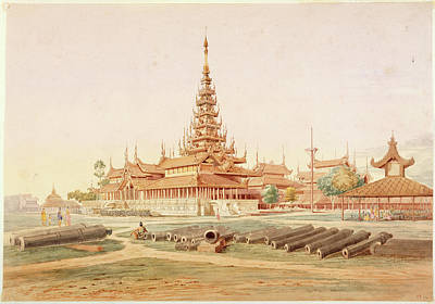 Burmese Photograph - Burmese Landscape by British Library