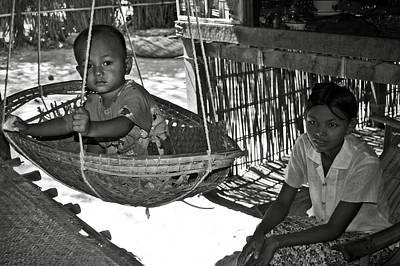 Burmese Mother And Son Art Print by RicardMN Photography