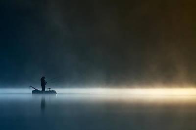 Fishermen Photograph - Burn My Shadow by Izabela Laszewska-mitrega/darek Mitr?ga