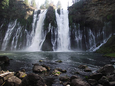 Photograph - Burney Falls - The Eighth Wonder Of The World by James Rishel