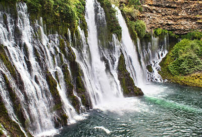 Photograph - Burney Falls by Abram House