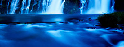 Macarthur Wall Art - Photograph - Burney Falls At Mcarthur-burney Falls by Panoramic Images