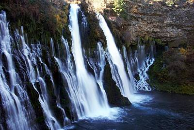 Photograph - Burney Falls Morning by Michael Courtney