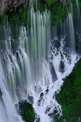 Photograph - Burney Falls by Robert Woodward