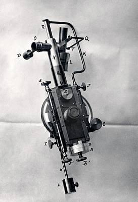 Stellar Photograph - Burnham's Micrometer by Royal Astronomical Society