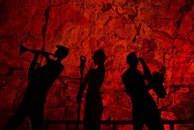 Underground Tour Photograph - Burnin' Down The House by Kenan Sipilovic