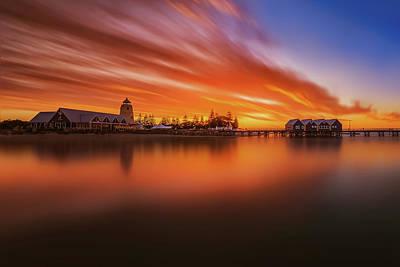 Photograph - Burning Bridge by Despird Zhang