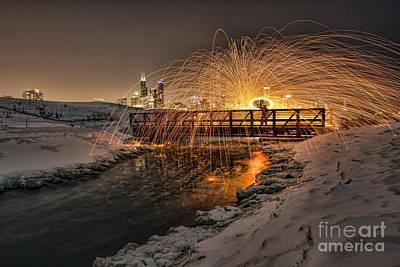 Photograph - Burning Bridges Pt2 by Steven K Sembach