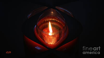 Photograph - Burning Bright by Crystal Harman