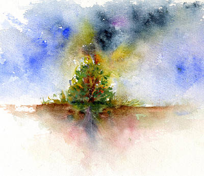 Burning Bush Painting - Burning Bush Two by John D Benson