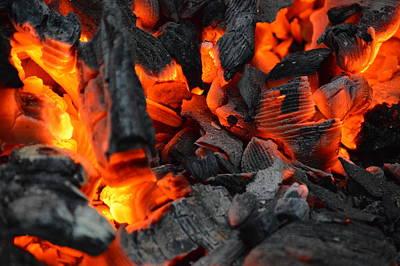 Burning Embers Original by Lena Hatch