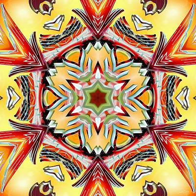 Digital Art - Burning Passion by Derek Gedney