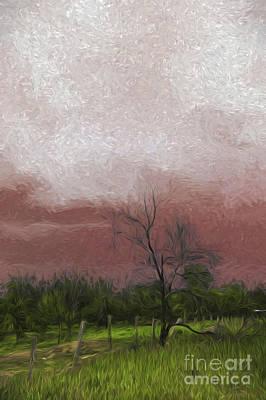 Bushfire Photograph - Burning Sky by Avalon Fine Art Photography