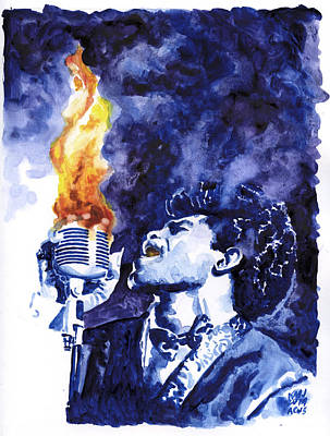 Burning Soul Brown Original by Ken Meyer jr