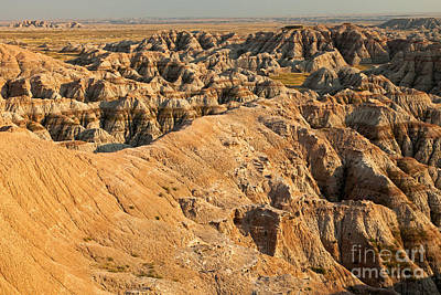 Burns Basin Overlook Badlands National Park Art Print