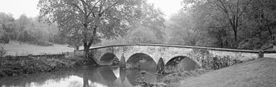 Civil War Battle Site Photograph - Burnside Bridge Antietam National by Panoramic Images