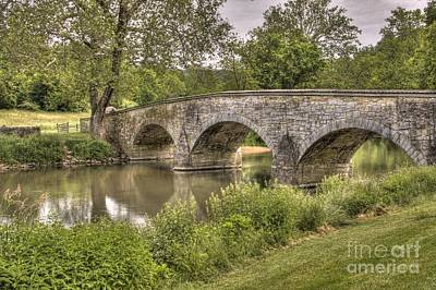 Photograph - Burnside Bridge by Jonathan Harper