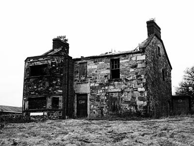 Halls Harbour Photograph - Burnt Ridley Hall by Zinvolle Art