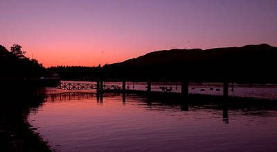Photograph - Burrard Inlet Vancouver by Brian Chase