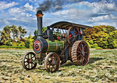 Digital Art - Burrell Steam Engine  by Paul Gulliver