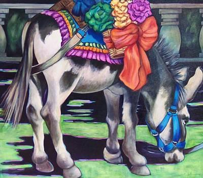 Burro Art Print