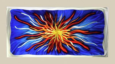 Burst Of Color Art Print by Rick Roth