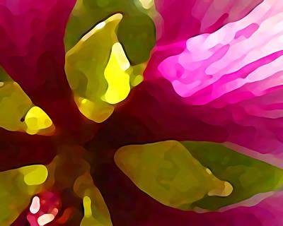 Burst Of Spring Art Print by Amy Vangsgard