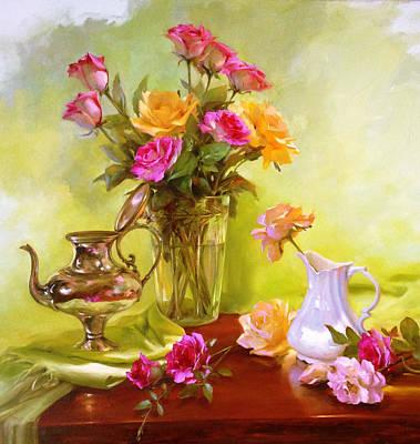 Painting - Burst Of Spring by Diane Reeves