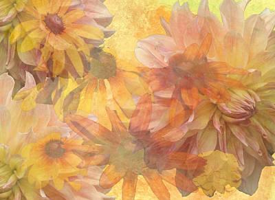 Donna Digital Art - Burst Of Spring by Donna Walsh
