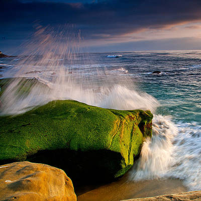 Windnsea Photograph - Burst by Peter Tellone