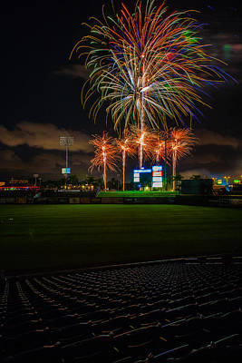 Brighthouse Field Photograph - Bursting In Air by Jeff Donald