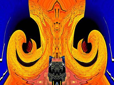 Bursting Pod 2013 Art Print by James Warren