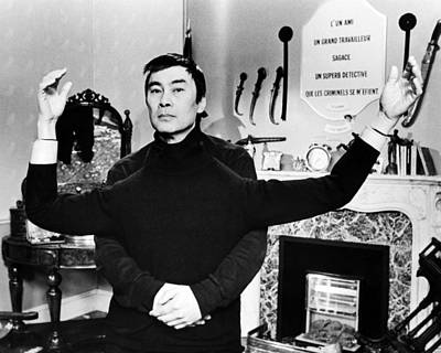 Pink Panther Photograph - Burt Kwouk In Revenge Of The Pink Panther  by Silver Screen