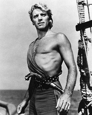Lancaster Photograph - Burt Lancaster In The Crimson Pirate by Silver Screen