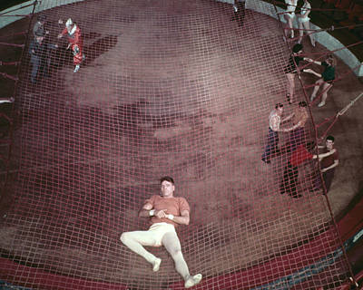 Trapeze Photograph - Burt Lancaster In Trapeze  by Silver Screen