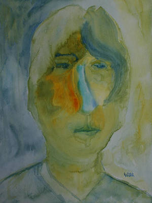 Painting - Burt  by Oscar Penalber
