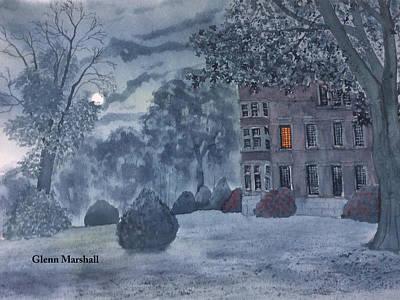 Burton Agnes Nocturne Art Print