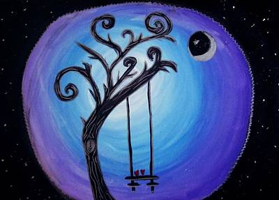 Tim Painting - Burton Love by Chris Swanson