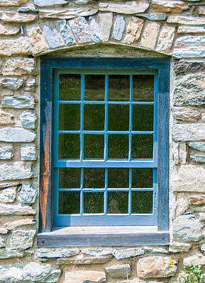 Photograph - Burwell-morgan Window by Guy Whiteley
