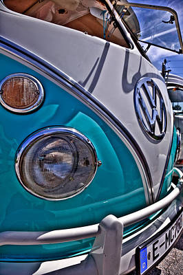Hippie Van Photograph - Bus In The Sun by Patrick  Flynn