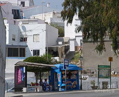Photograph - Bus Stop Shop - La Caleta by Phil Banks