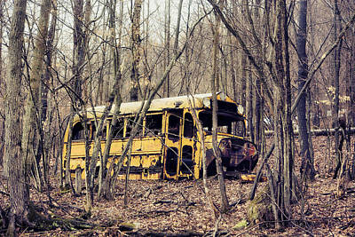 Photograph - Bus To Nowhere by Emily Stauring