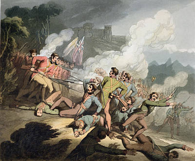 Busaco, 27th September 1810, From The Art Print