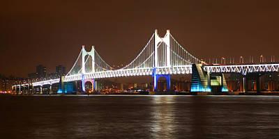 Photograph - Busan Bridge by Brad Brizek