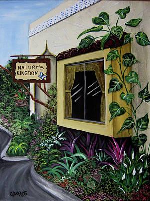 Painting - Busch Gardens Scene by Gloria E Barreto-Rodriguez