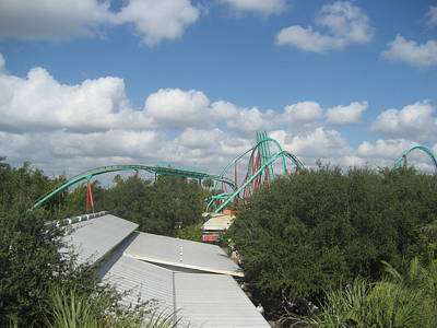North Photograph - Busch Gardens Tampa - 01133 by DC Photographer